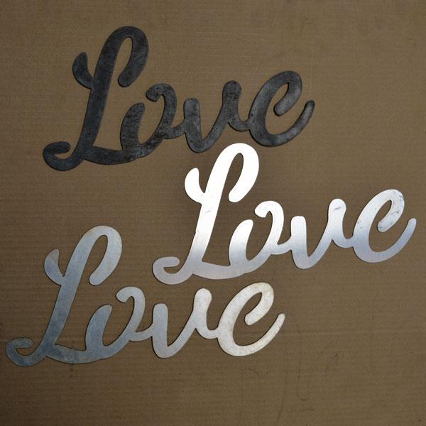 script Love signs
